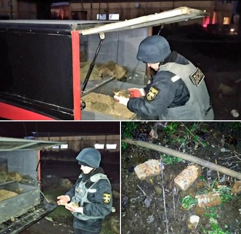 Так вчора, 8 лютого група піротехнічних робіт працювала у місті Мукачево на вул. Т.Масарика.