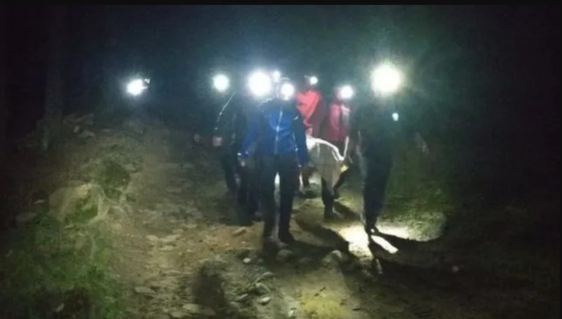 Постраждала від вибуху в Карпатах туристка отямилася