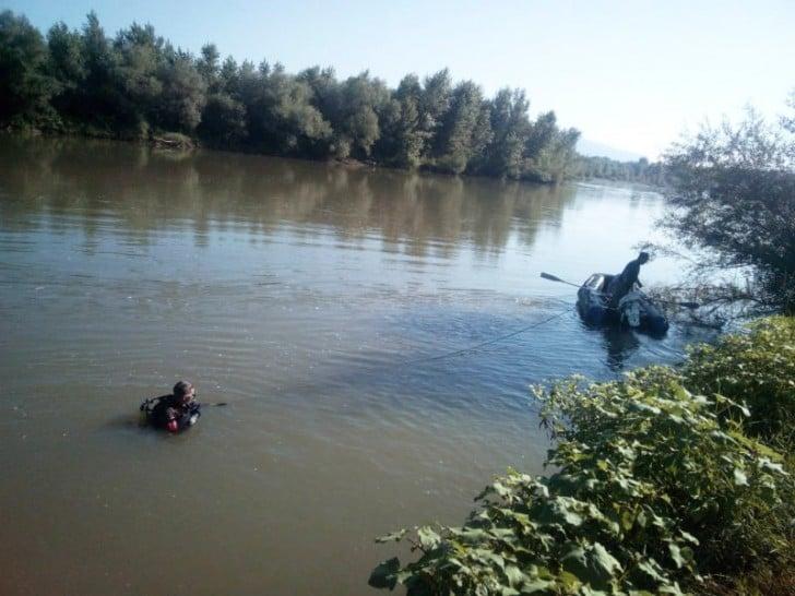 Водолази Аварійно-рятувального загону спецпризначення розпочали пошуки тіла ймовірного потопельника