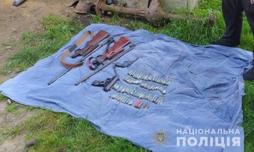 За фактом незаконного поводження зі зброєю Тячівська поліція відкрила кримінальне провадження.