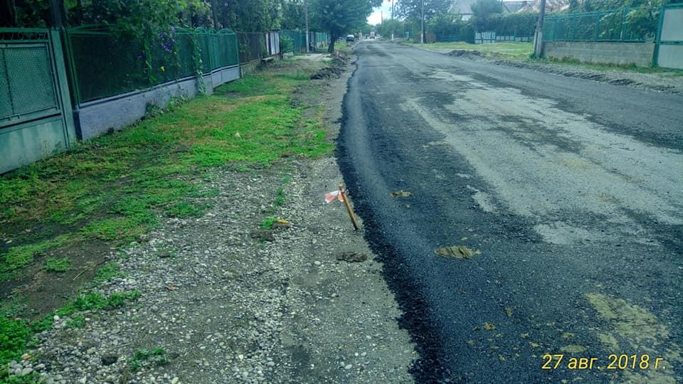 Ремонт доріг на Виноградівщині: підрядник прокоментував хід робіт в Олешнику