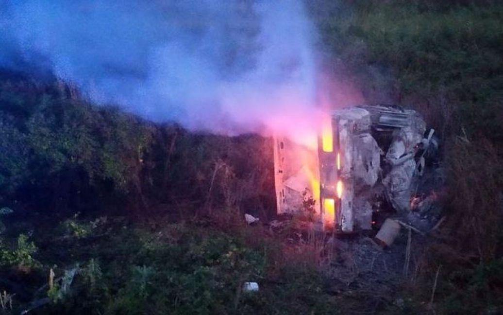 На місці події працювали рятувальники і слідчо-оперативна граппа.