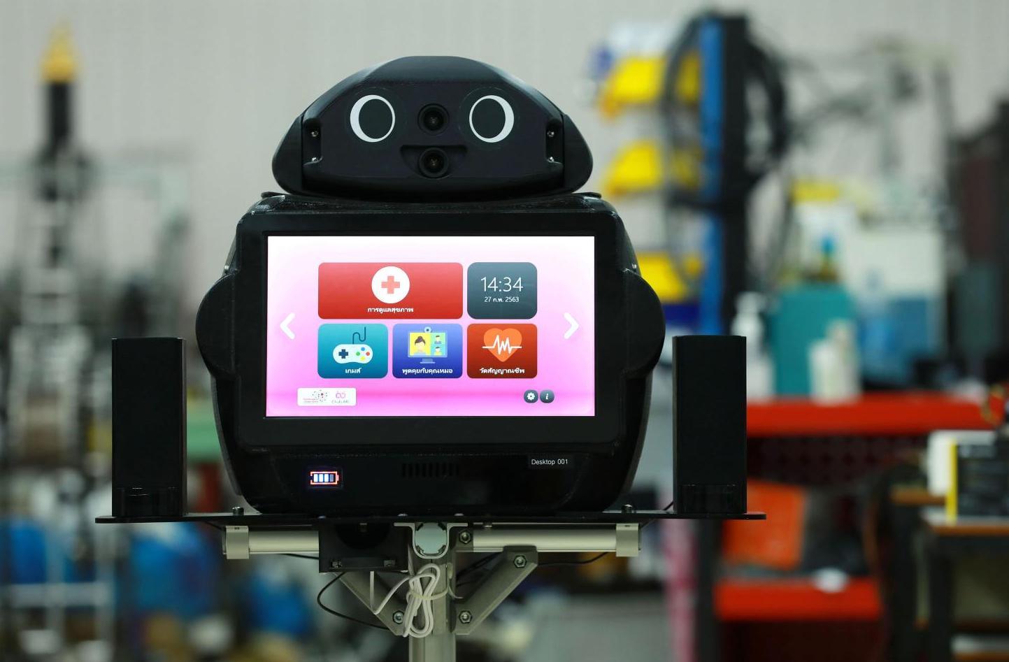 Китайські компанії розробили роботів для того, щоб виявляти у людей коронавірус