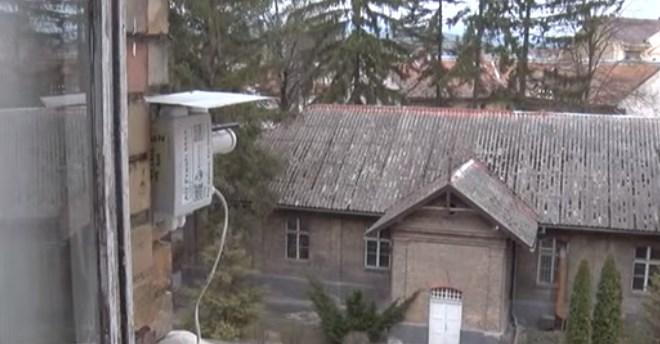 У місті над Ужем встановили  пристрій для контролю стану повітря.