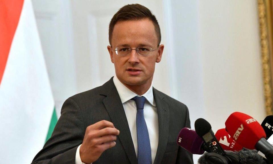 Про це заявив Міністр закордонних справ Угорщини.