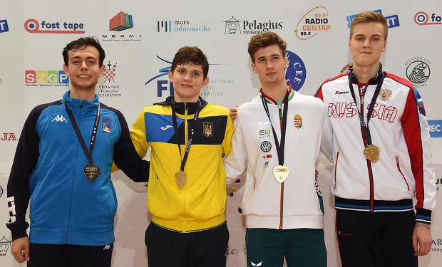 Змагання проходили у Хорватії.
