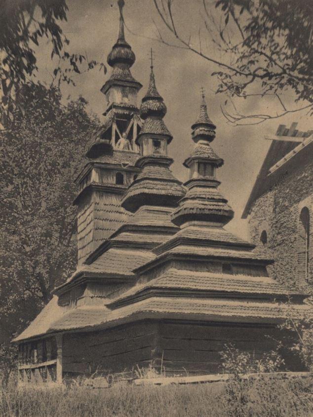 В минулому столітті із Закарпаття вивезли в Прагу дерев'яну церкву (ФОТО)