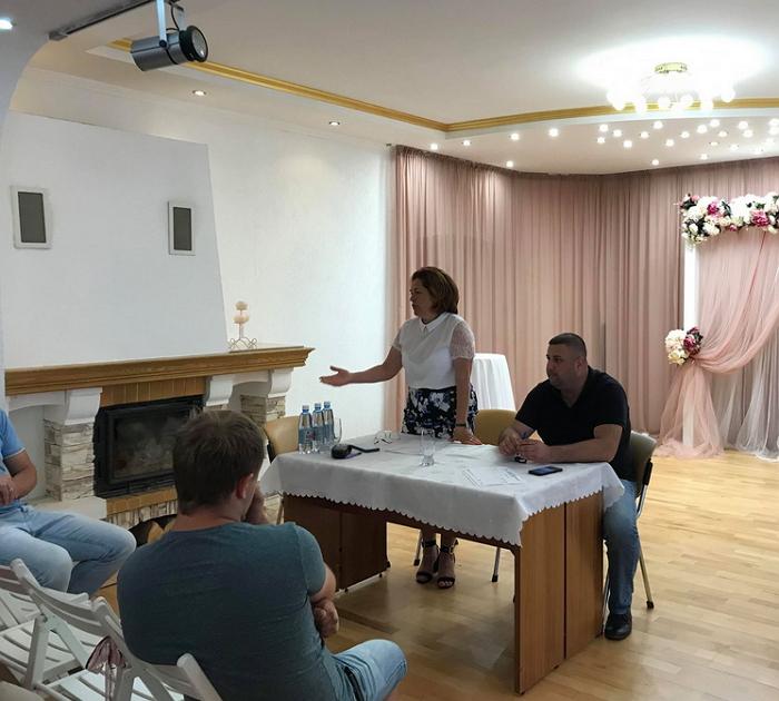 4 липня в селі Кам'яниця неподалік Ужгорода відбулися збори активу села, присвячені процесу об'єднання громад.