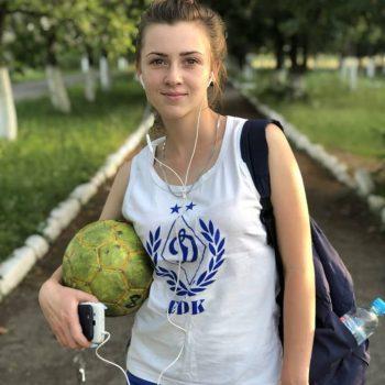 Виноградівчанка Дарина Григорович має шанс потрапити в склад національної збірної команди по дівочому футболу
