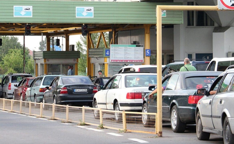 Черги з автівок спостерігаються на пункті пропуску