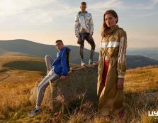 В горах знімали рекламний ролик модного одягу