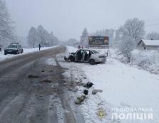 В аварії на Тячівщині постраждали п