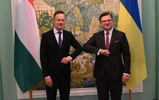 Україна й Угорщина мають намір розблокувати потенціал економічного співробітництва, відзначив Дмитро Кулеба.
