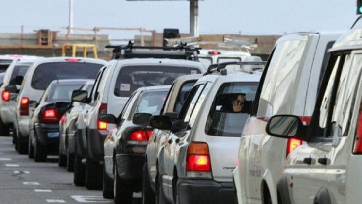 Черги із майже 150 автомобілів спостерігаються наразі перед пунктами пропуску до сусідніх держав.