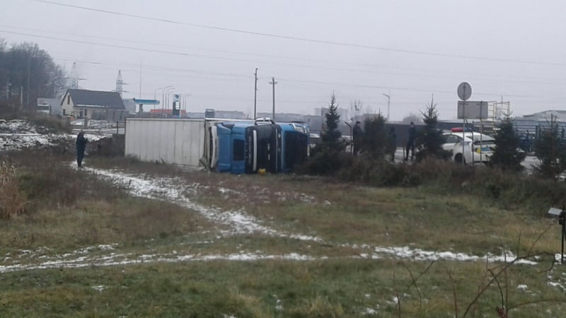 ДТП сталася на вулиці Пряшівській у Мукачеві.