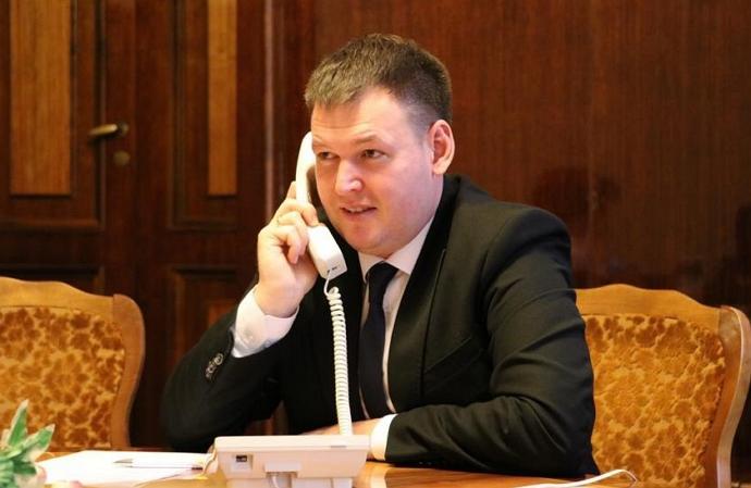 Сегодня он заменил Алексея Гетманенка на должности первого заместителя Алексея Петрова.