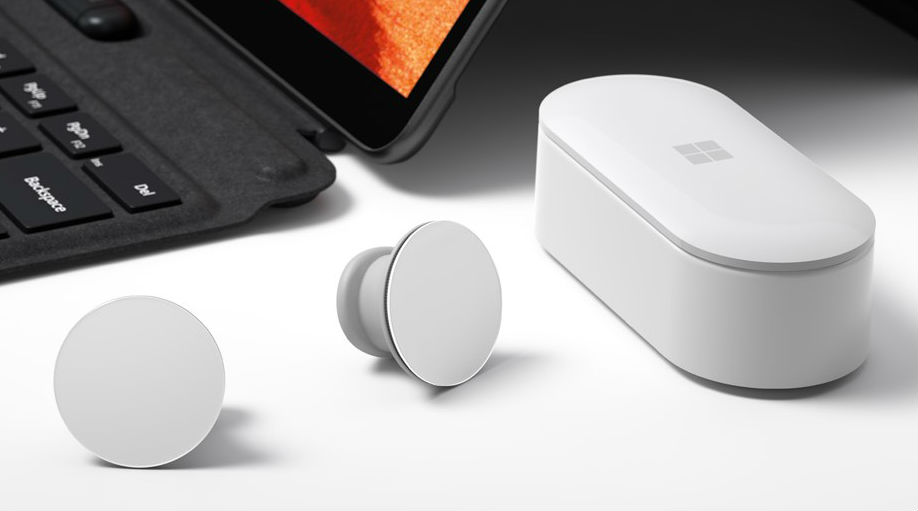 Microsoft почала поставки бездротових навушників Surface Earbuds.