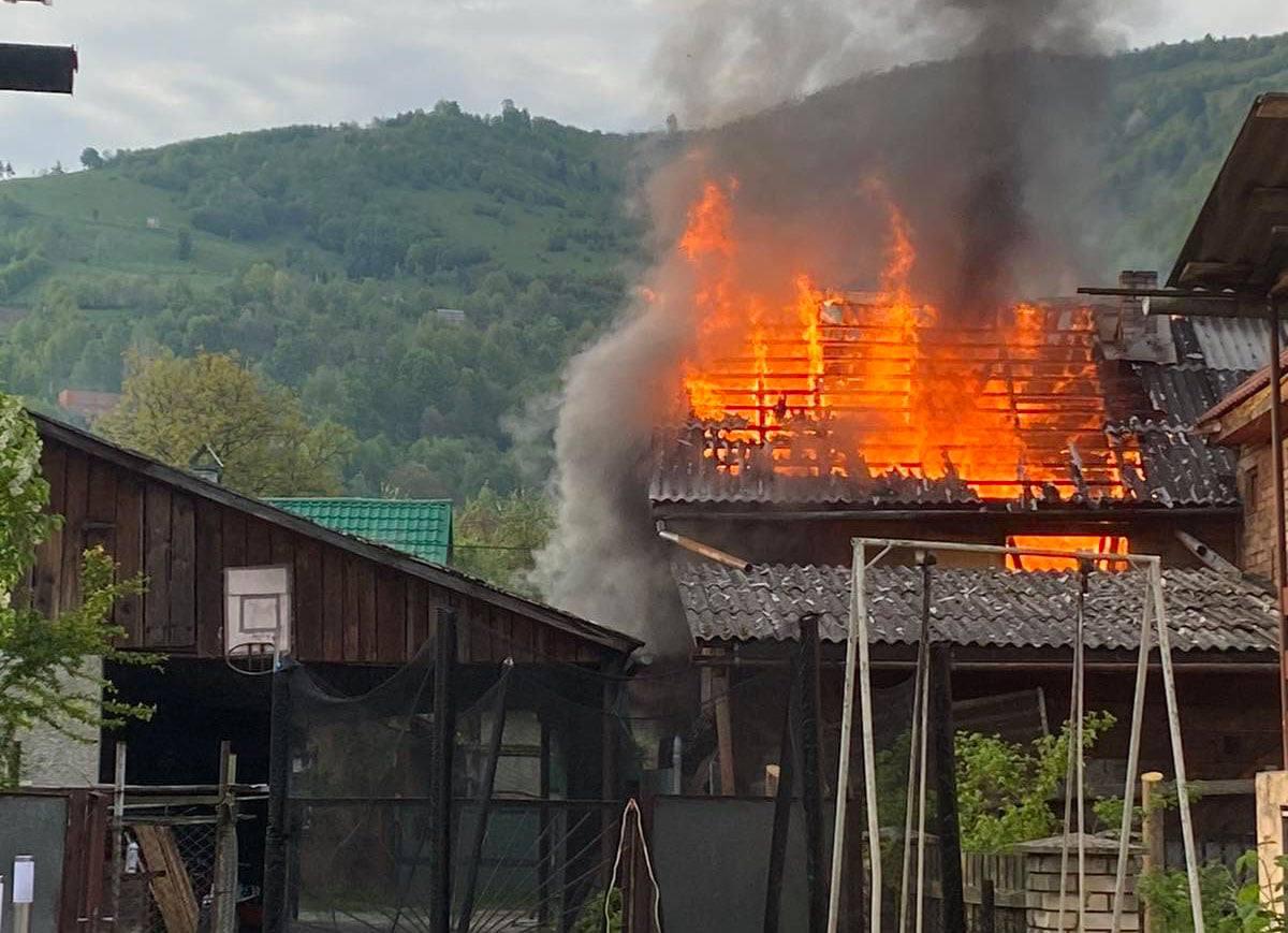 Про це повідомило Головне управління ДСНС України у Закарпатській області.