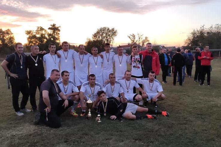 Фінішував чемпіонат Берегівського району з футболу сезону 2019 року.