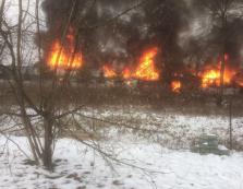 На Тячівщині вщент згорів магазин: з