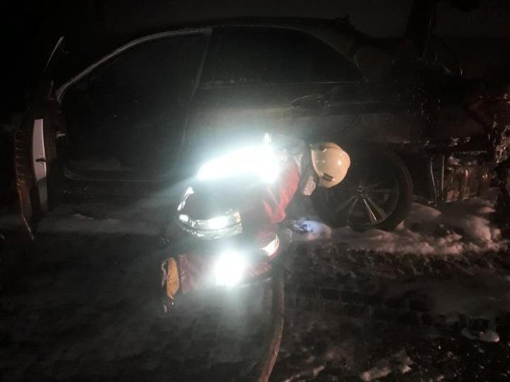 Впродовж минулої ночі на Закарпатті зареєстровано дві пожежі в транспортних засобах.