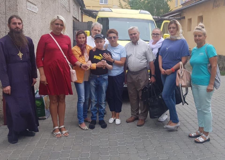 Василька Легача, якому гроші на лікування збирали гуртом не стало вчора, 25 листопада.