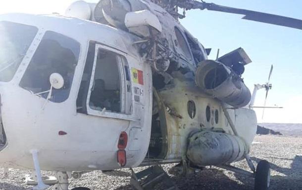 Вертоліт перевозив афганських військовослужбовців і був збитий бойовиками Талібану в провінції Гільменд.