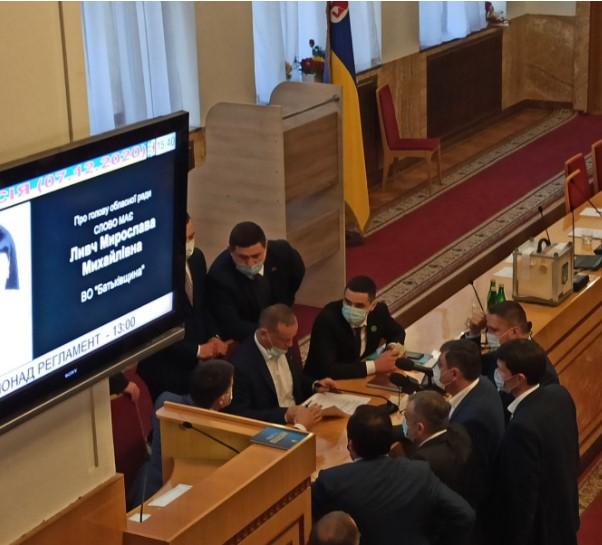 Не змогли врегулювати власні чвари і бажання усередині партії і відмовились від підтримки керівника власного осередку партії у Закарпатській області на цю посаду!