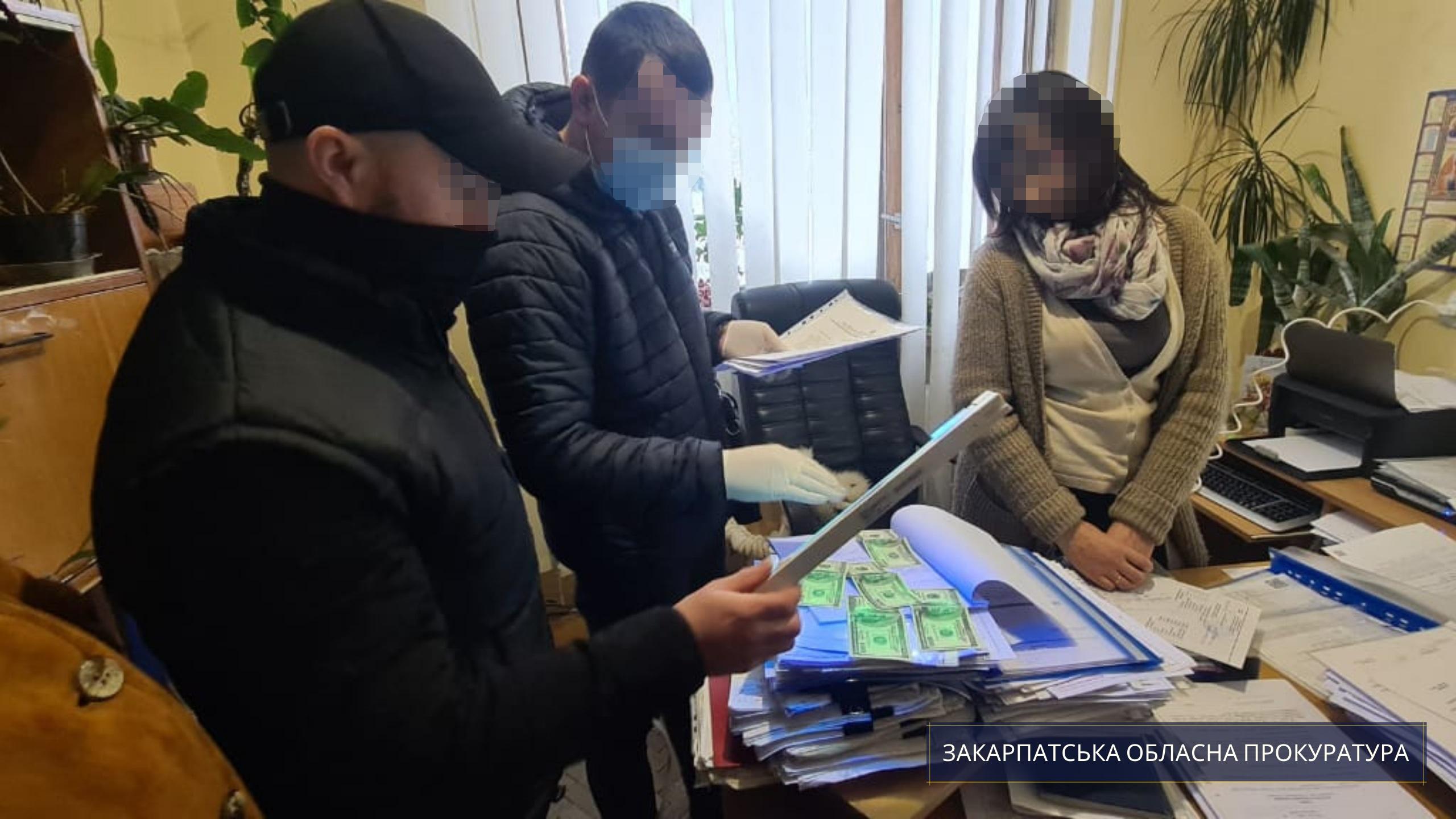Под процессуальным руководством Закарпатской областной прокуратуры начальник одного из отделов Свалявской областной государственной администрации был разоблачен за получение незаконных льгот