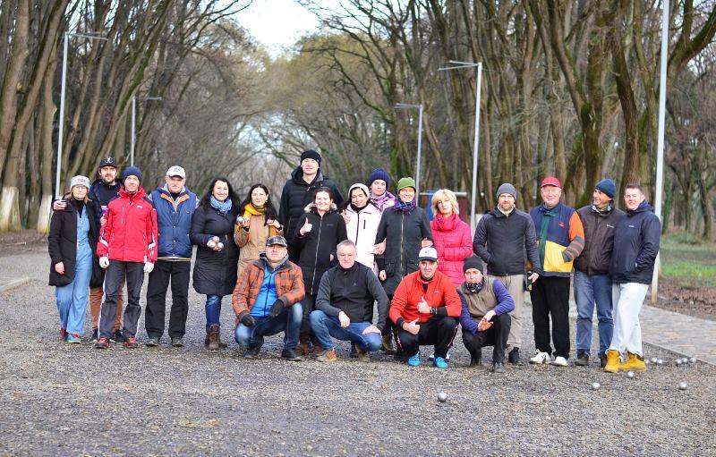 І турнір з петанку у місті над Ужем відбувся 2 січня.