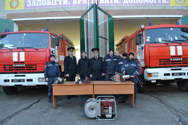 Тячівські рятувальники отримали благодійну допомогу від міста Яблунков Чеської Республіки