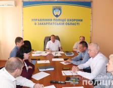 В Ужгороді зібралися разом керівники відомчої профспілки та представники колективу Нацполіції Закарпаття