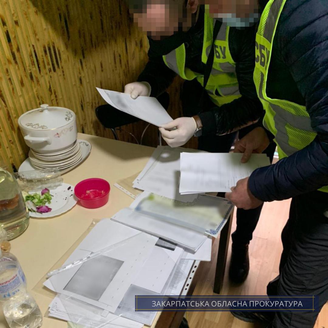 Незаконна передача понад 50 га державних земель у приватну власність – завершено слідство стосовно експосадовця Держгеокадастру та земельних інженерів.