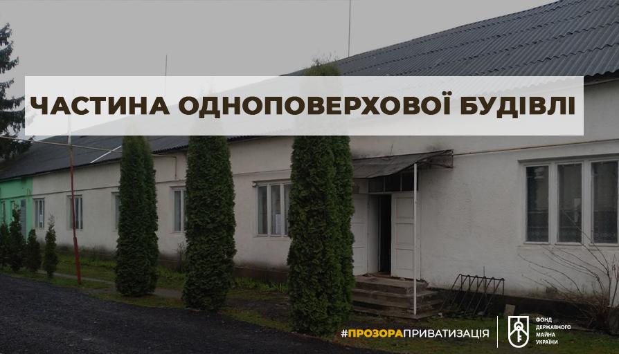 Нерухомість площею 212 м² в центрі міста Іршава на приватизаційному аукціоні.