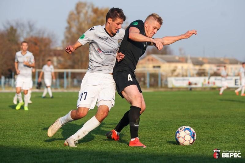 Поєдинок відбувся у суботу, 19 жовтня на Рівненщині, як результат «Верес» (Рівне) – «Ужгород» завершився з рахунком 3:0.