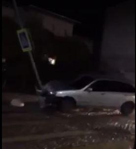 Автопригода трапилась на вулиці Садова, рівно навпроти головного входу до парку