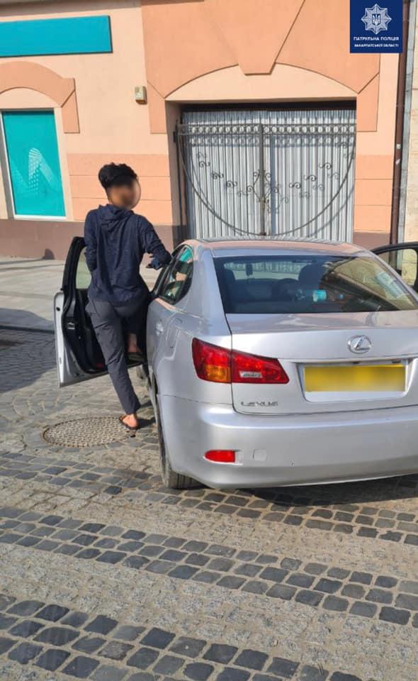 Ужгородські патрульні притягнули до відповідальності водія