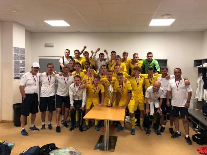 Українська збірна U18 отримала перемогу над збірною Чехії у фіналі футбольного турніру Вацлава Єжека, який проходив у суботу.