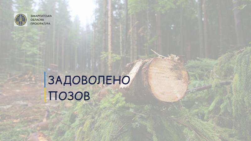 Під час перевірки держпідприємства обласний орган Держекоінспекції встановив наявність збитків, які підлягають відшкодуванню постійним лісокористувачем.
