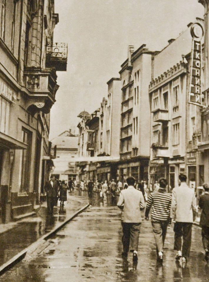 На фото 1960 - го року вул. Суворова.