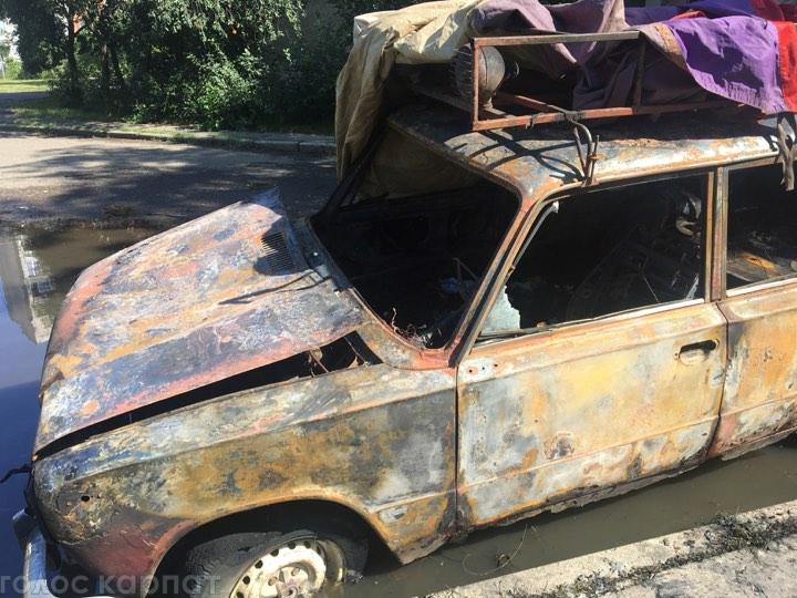 Пожежі на Закарпатті: горіли автомобілі