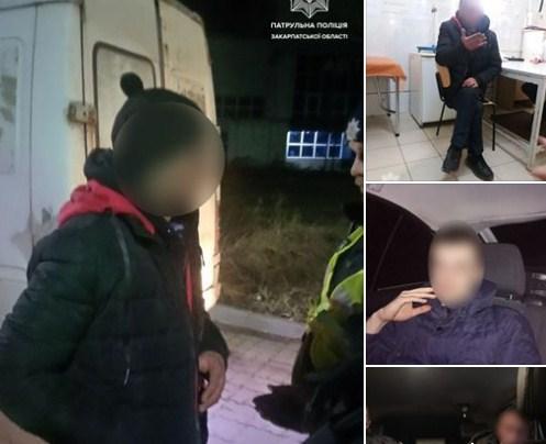Протягом однієї ночі закарпатські патрульні затримали шістьох водіїв у стані сп'яніння.