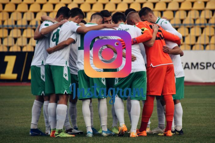 """Instagram футбольного клубу """"Ужгород"""" став фіналістом конкурсу серед найкращих акаунтів професіональних команд."""
