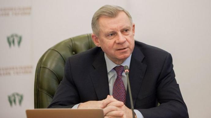 Голова Національного банку Яків Смолій написав та подав на ім'я президента Володимира Зеленського заяву про відставку через