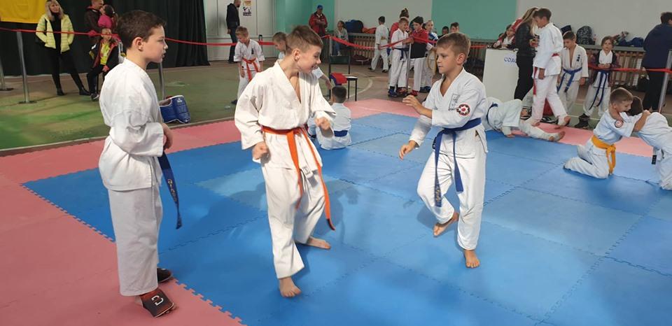 """Сьогодні в УСБ """"Закарпаття"""" пройшли спортивні змагання Відкритого Кубку Закарпатської областї з годзю-рю карате, в яких взяло участь близько 250 спортсменів (у різних вікових категоріях)."""