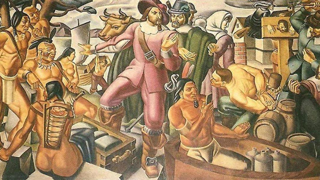 Упс... На картині 1937 року знайшли «айфон»