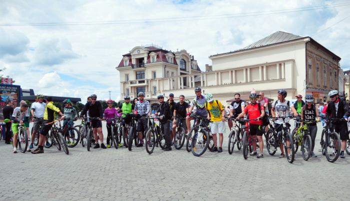 Ужгородці влаштували велозаїзд на 40 кілометрів