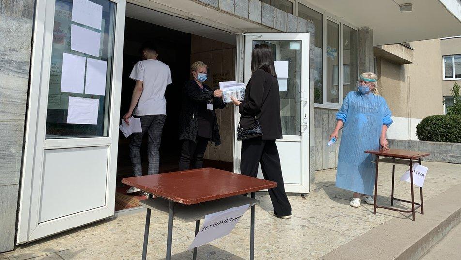 Про це повідомила відповідальна за проведення тестування в окрузі міста Олена Шварц.