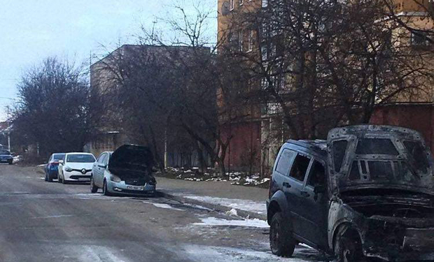 Пожар произошел на улице Легоцкого в Ужгороде.