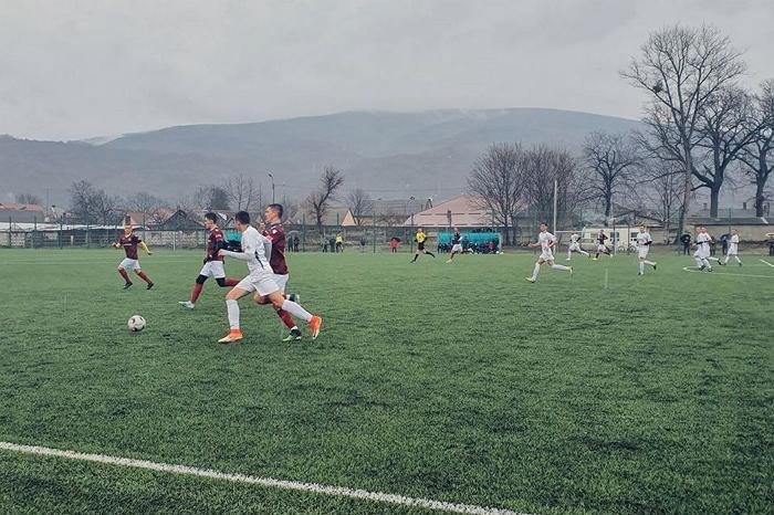 У суботу, 7 березня, топові закарпатські команди провели серію контрольних поєдинків.